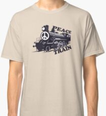 Cat Stevens - Peace Train is coming Classic T-Shirt