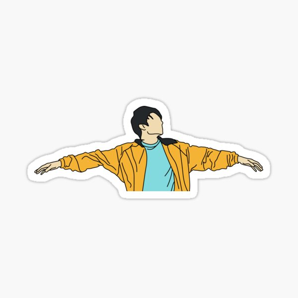 BTS Jeon Jungkook - Euphoria  Sticker