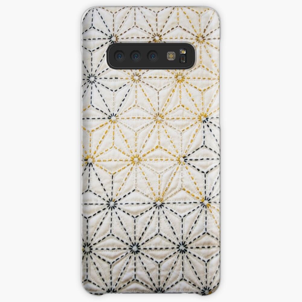 Geometrischer Quilt! Hüllen & Klebefolien für Samsung Galaxy