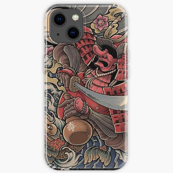 Yopparai - The drunken Samurai iPhone Soft Case