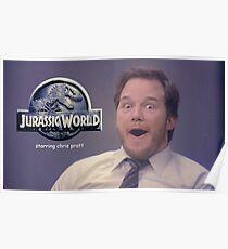 Jurasic World Chris Pratt Poster