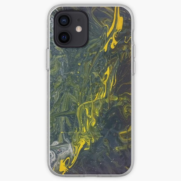 Trench Acrylic Pour iPhone Soft Case