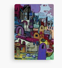 My Way Is Layered Canvas Print