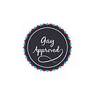 Gay Approved Stamp by Simplicity Design