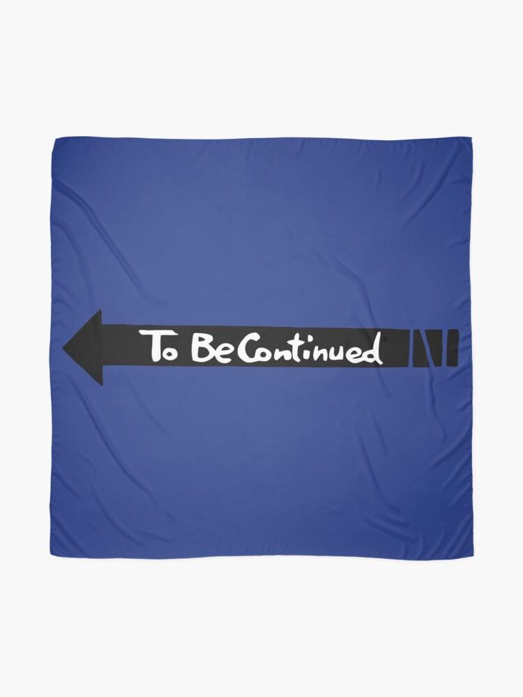 Alternative Ansicht von Fortsetzung folgt - Schwarz Tuch