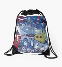 The Least & The Greatest Drawstring Bag