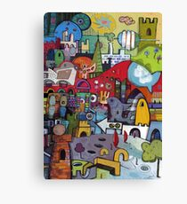 My City Imagined Canvas Print