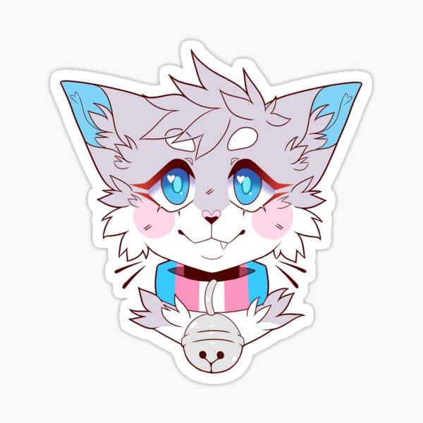 Trans Pride Kitty Sticker