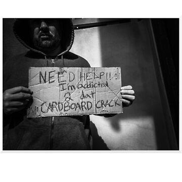 Cardboard Addiction Podcast T-Shirt #1 by cardboardaddict