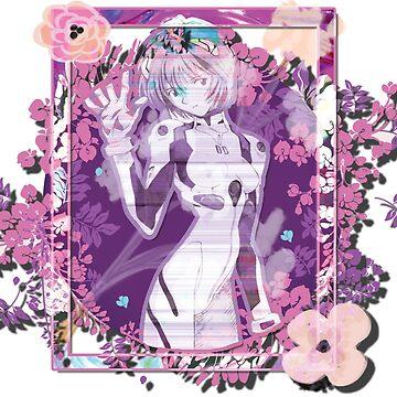 Evangelion Flowers Rei Ayanami by spikemet