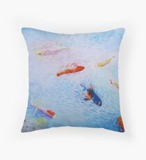 Tranquility in Familiar Numbers Throw Pillow