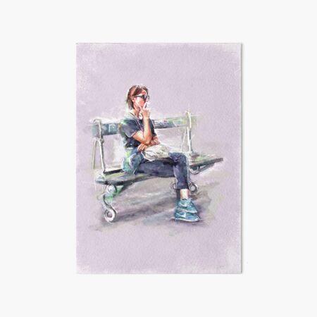 Parisienne Art Board Print