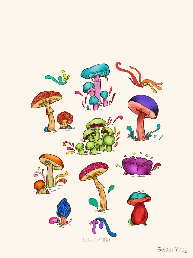Mushrooms by diselachando