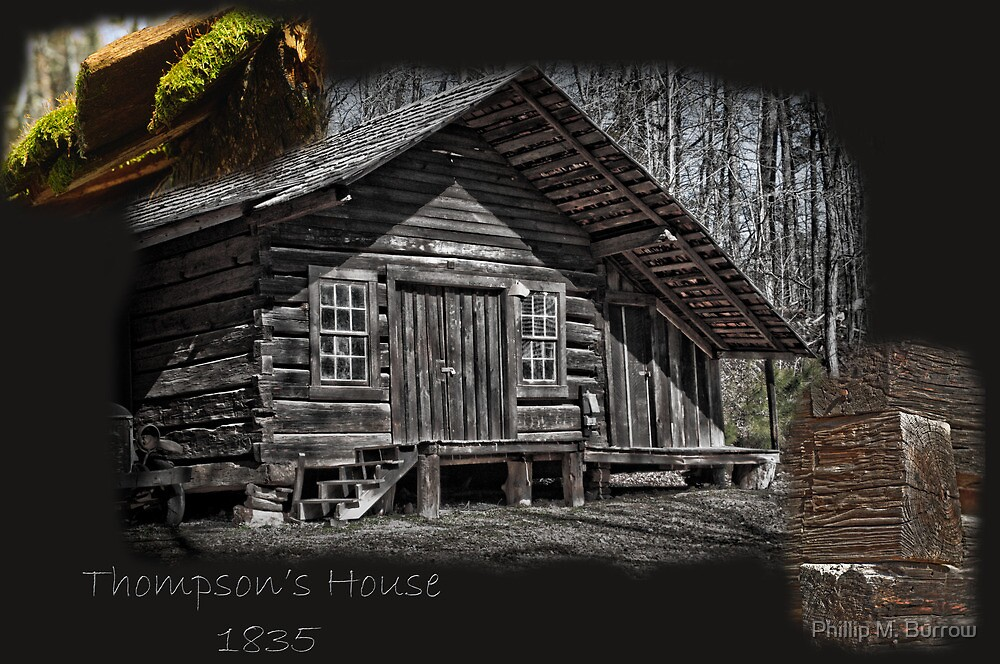 Thompson's Home by Phillip M. Burrow