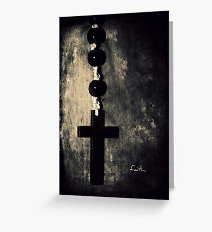 faith. Greeting Card