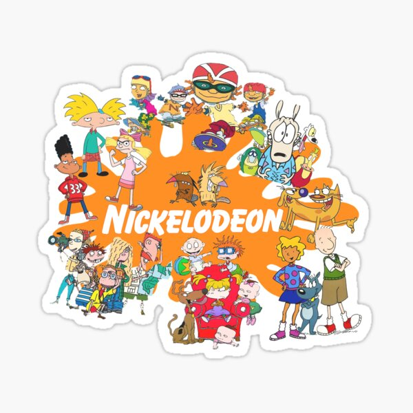 90's Nick Cartoons Sticker