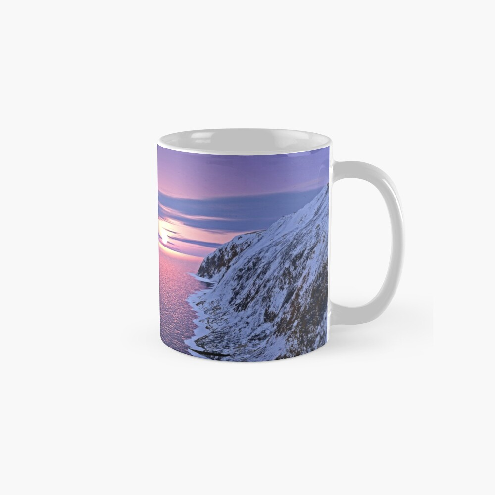 Arctic Landscape Mugs