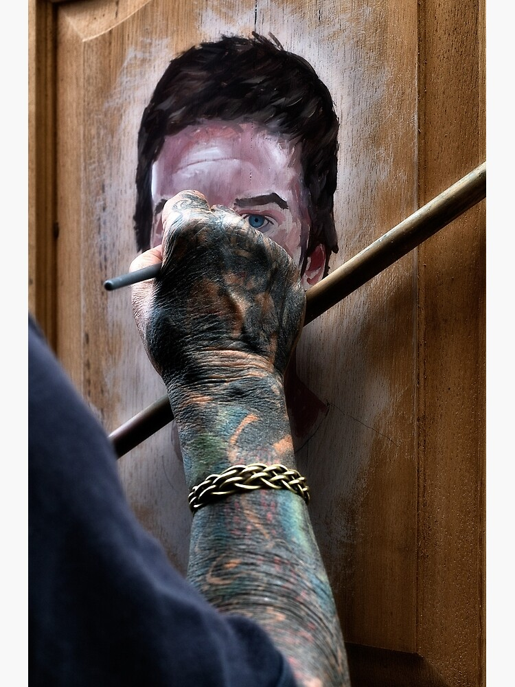 Painter's hand by fardad