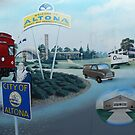 City of Altona, Mural (detail), Altona by Joan Wild