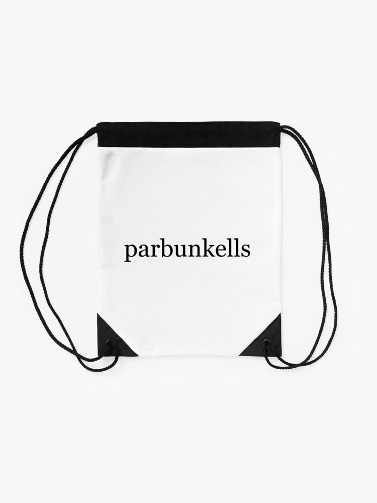 Alternate view of parbunkells Drawstring Bag