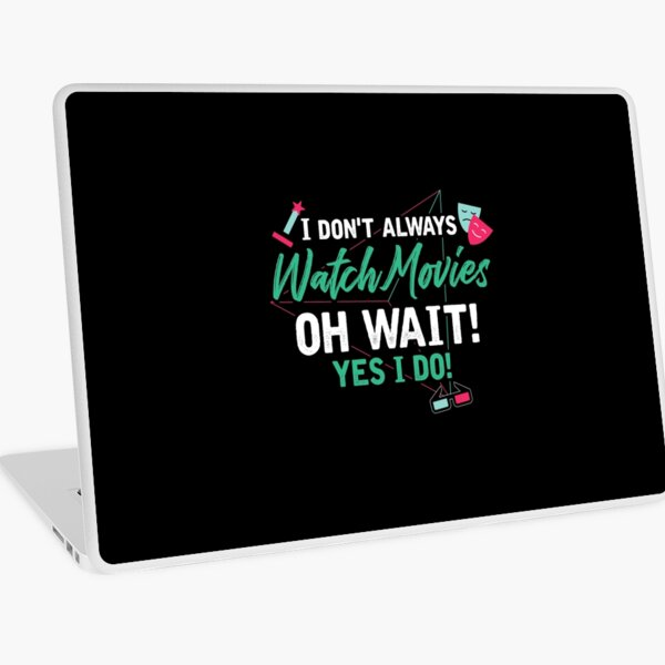 Movies lovers Laptop Skin