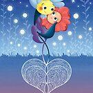 Love flowers  by Angela Sbandelli