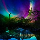 Keep your vibrant distance Art by Sto Hitro