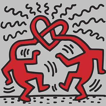 Untitled Icon 1989 Obras de arte originales, camisetas con iconos de amor, estampados de corazones, pósters, bolsos, para hombres, mujeres, niños, jóvenes de clothorama