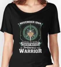 November 1944 Perfect Mixture Of Princess And Warrior Relaxed Fit T-Shirt