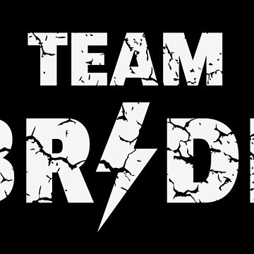 Team Bride Rocks / Vintage (Hen Night / Bachelorette Party / White) by MrFaulbaum