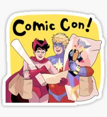 Comic Con! Sticker