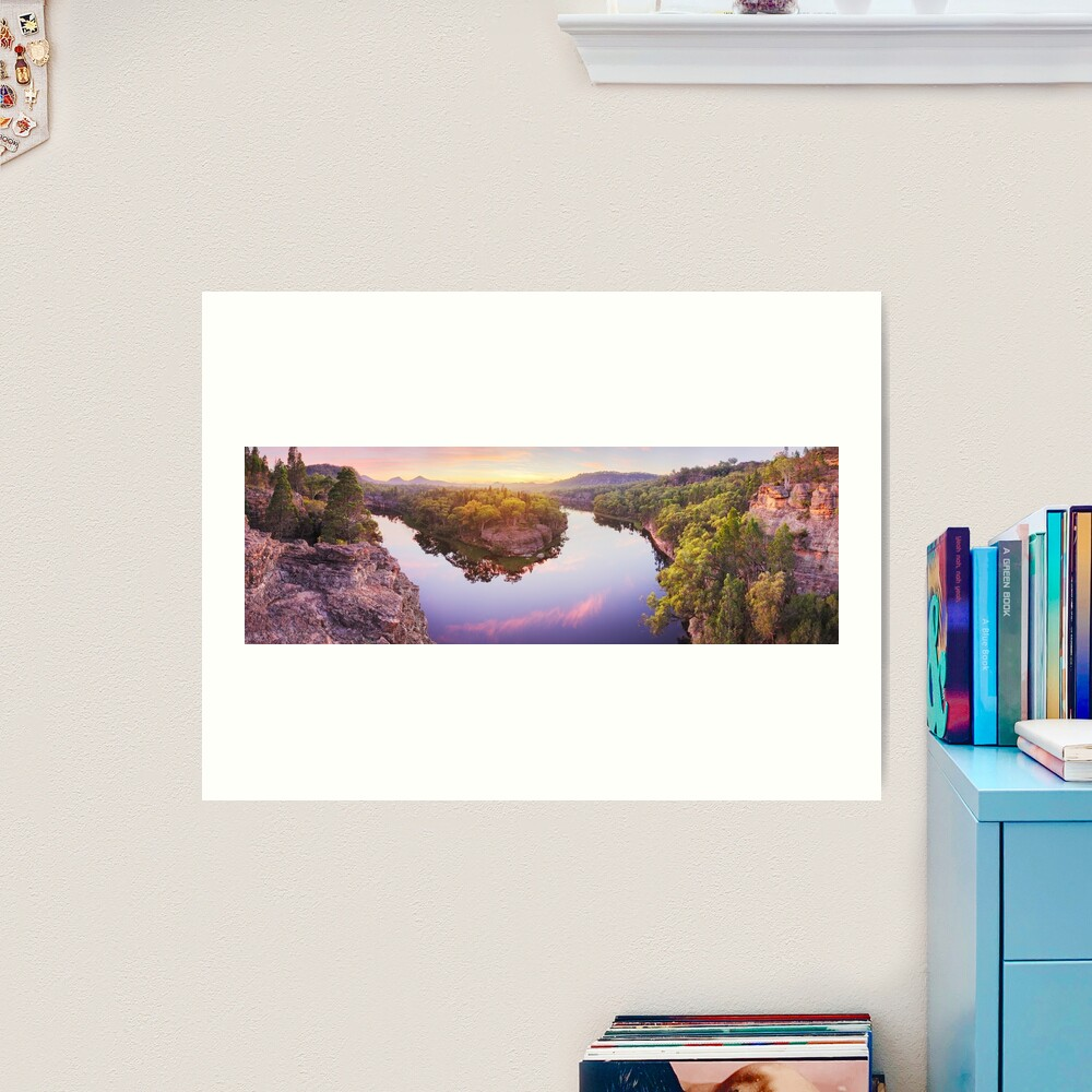 Dunns Swamp, Ganguddy, Wollemi National Park, New South Wales, Australia Art Print