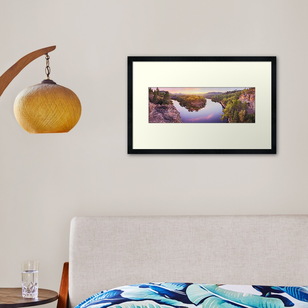 Dunns Swamp, Ganguddy, Wollemi National Park, New South Wales, Australia Framed Art Print