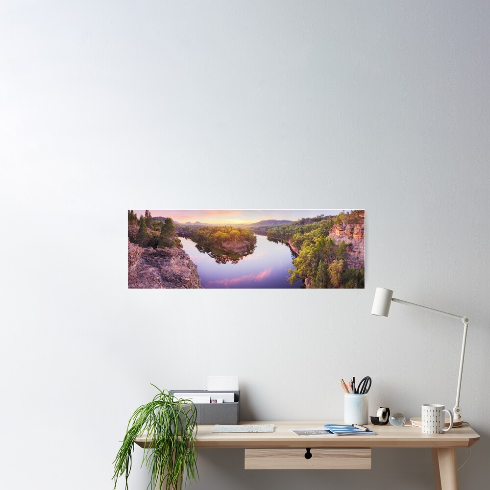 Dunns Swamp, Ganguddy, Wollemi National Park, New South Wales, Australia Poster