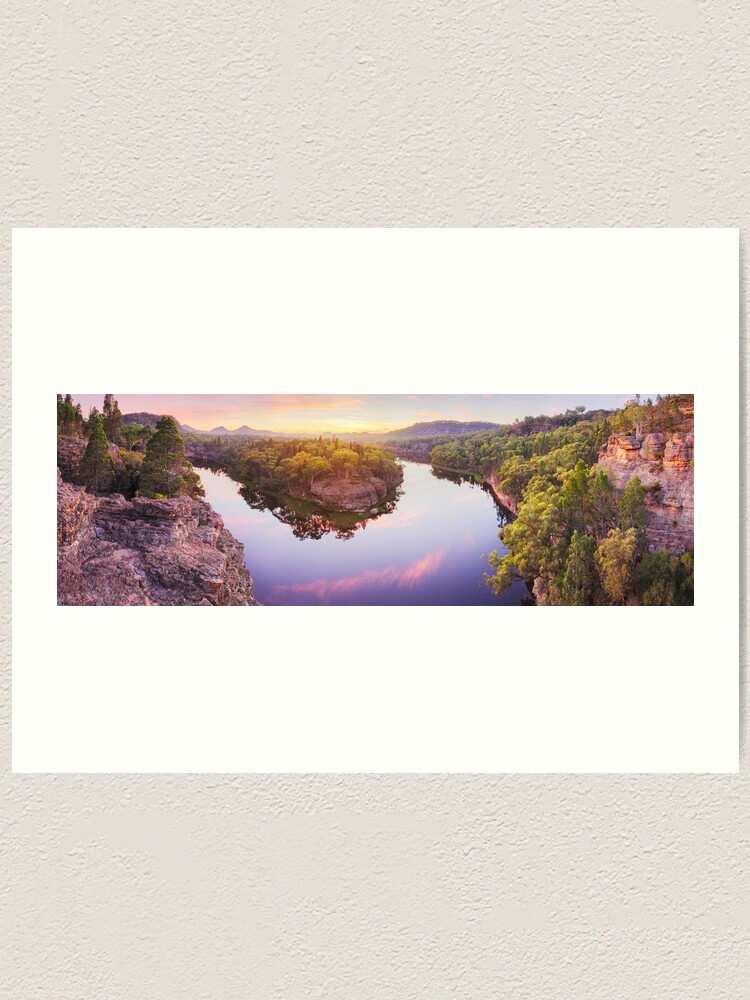 Alternate view of Dunns Swamp, Ganguddy, Wollemi National Park, New South Wales, Australia Art Print