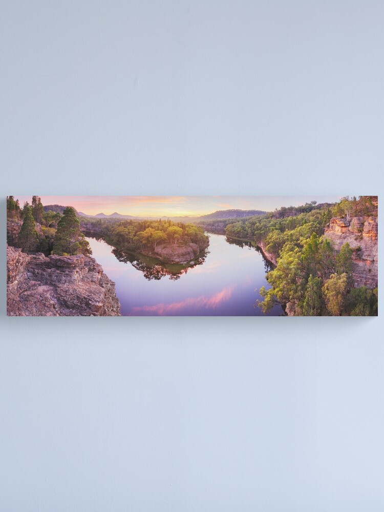 Alternate view of Dunns Swamp, Ganguddy, Wollemi National Park, New South Wales, Australia Canvas Print