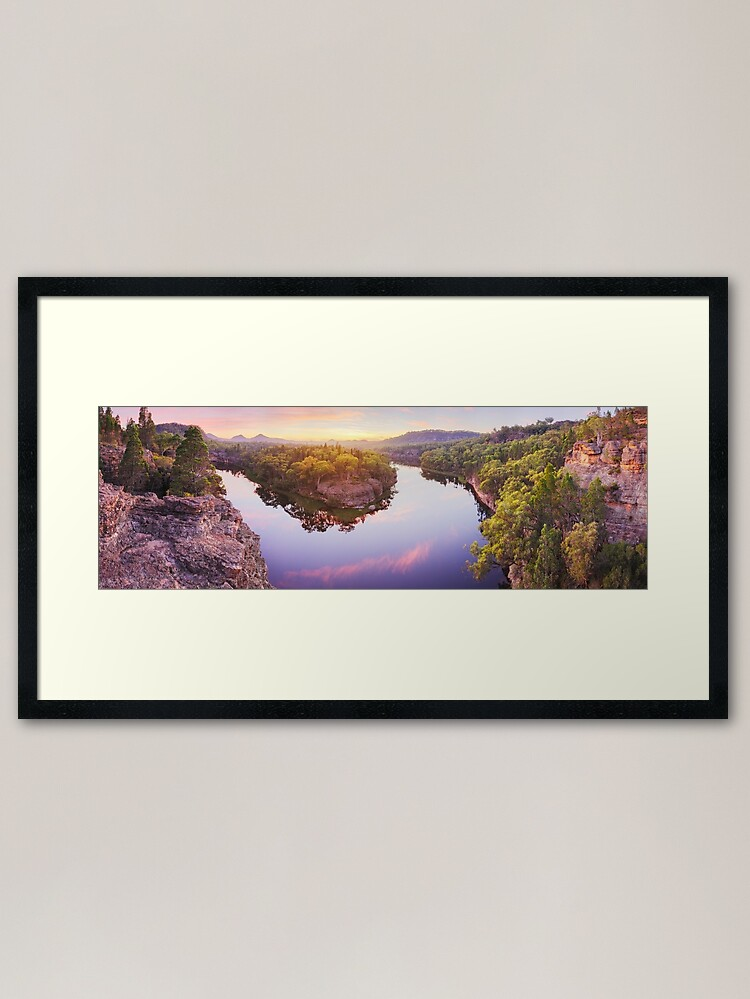 Alternate view of Dunns Swamp, Ganguddy, Wollemi National Park, New South Wales, Australia Framed Art Print