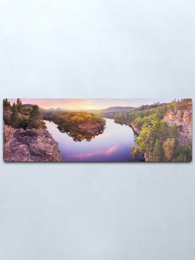 Alternate view of Dunns Swamp, Ganguddy, Wollemi National Park, New South Wales, Australia Metal Print