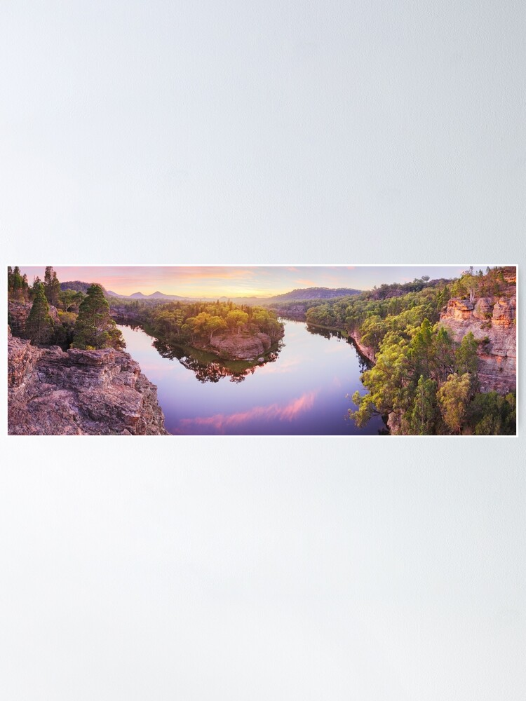 Alternate view of Dunns Swamp, Ganguddy, Wollemi National Park, New South Wales, Australia Poster