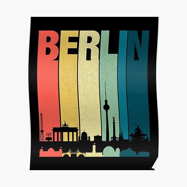 Berlin Shirt Vintage Berlin T-Shirt Poster