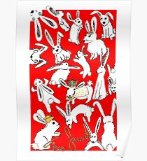 Der Favorit - Kaninchen - Alternative Movie Poster Poster