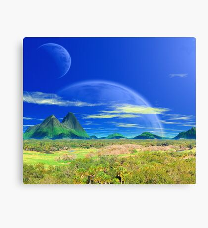 Across Pandoran Plains Canvas Print
