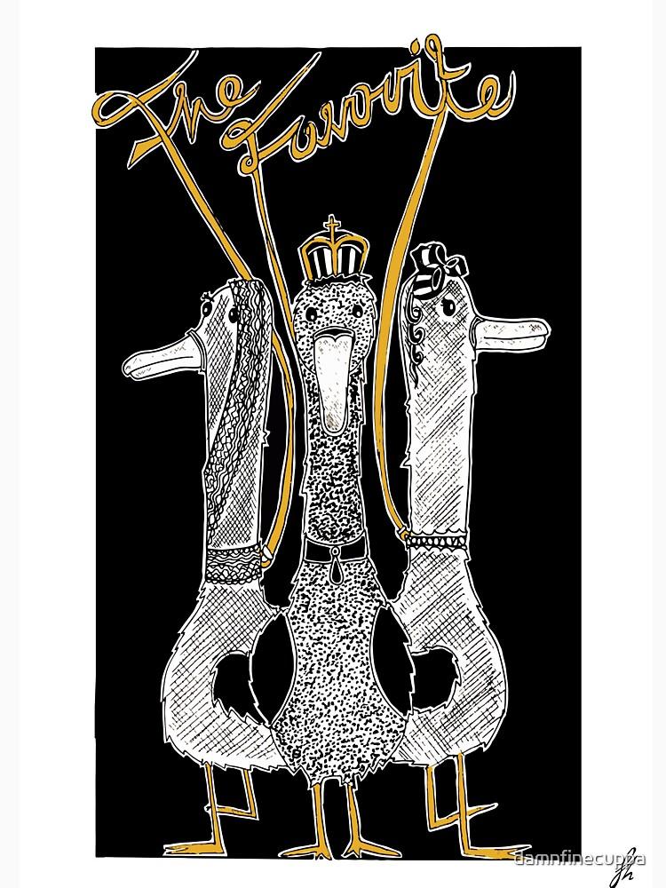 Der Favorit - Enten - Alternative Filmplakate von damnfinecuppa