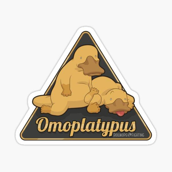 BJJ - Omoplatypus  Sticker
