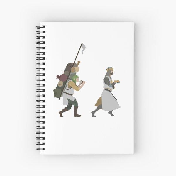 King Arthur Spiral Notebook