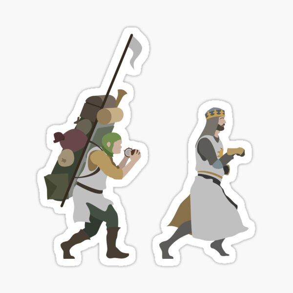 King Arthur Sticker