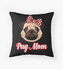 Cojín de suelo Pug Life Lindo Cumpleaños Divertido Mamá Idea Puggy Face Pug Lover