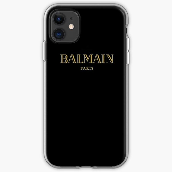 Balmain Paris Gold iPhone Soft Case