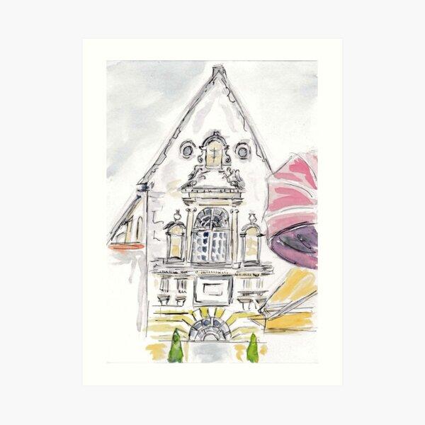 Chapelle, Beaune Art Print
