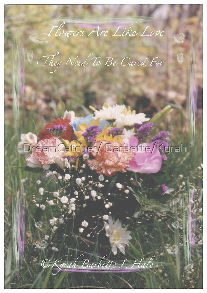 FLOWERS by DreamCatcher/ Kyrah